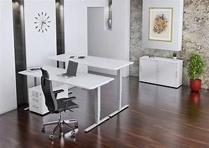 Höhenverstellbarer Schreibtisch Test : b m ergonomischer schreibtisch mit elektrischer h henverstellung im vergleich expertentesten ~ Orissabook.com Haus und Dekorationen