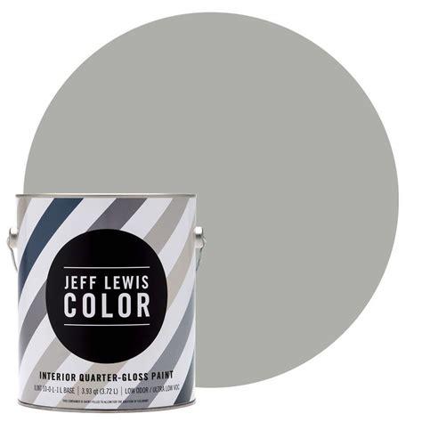 jeff lewis color 1 gal jlc413 dusk quarter gloss ultra low voc interior paint 301413 the
