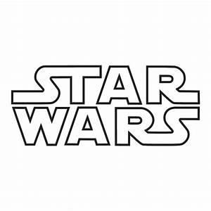 Star Wars Logo Outline Sticker - £1 99 : Blunt One
