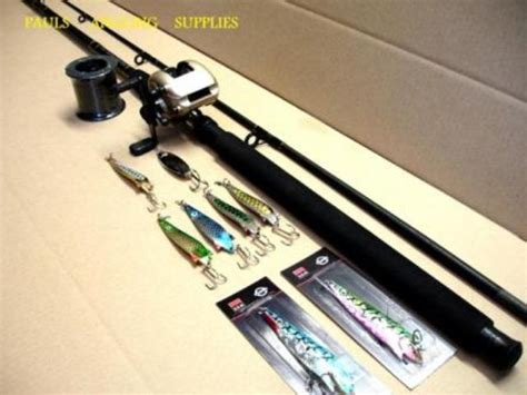 pike fishing kit  baitcaster reel rod  reel kits