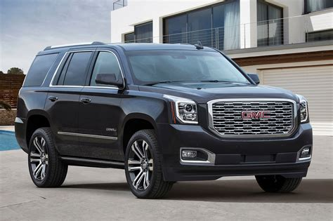 2018 Gmc Yukon Denali Gets 10speed Transmission  Motor Trend