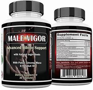 Male Vigor Natural Testosterone Supplements - Best Testosterone Pills