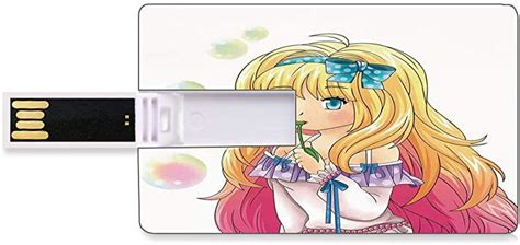 While these cards are the most limited in variety (no visa or mastercard functionality—it's like a gift card) it's also the easiest to use. Amazon.com: 4 GB USB Flash Thumb Drives Anime Bank Credit Card Shape Business Key U Disk Memory ...