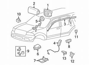 Ford Explorer Instrument Panel Air Bag  Camel