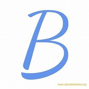 Cursive Letter Blue B   Clipart Panda - Free Clipart Images