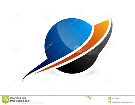 Sphere,circle logo,global abstract business icon and ...