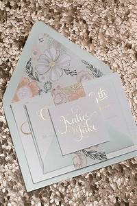 46 best pink and gray wedding images on pinterest gray With handmade wedding invitations leeds