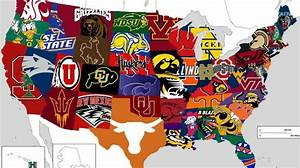 Reddit: Most popular college football teams in each state ...