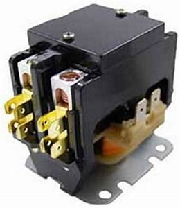 New   Packard C240a Contactor 2 Pole 40 Amps 24 Coil