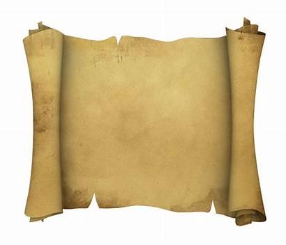 Scroll Pirate Transparent Template Paper Background Antique