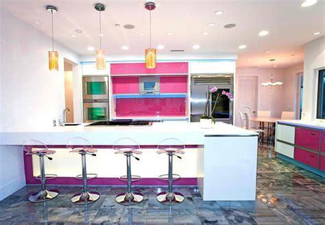 15 Adorable Multi colored Kitchen Designs   Home Design Lover