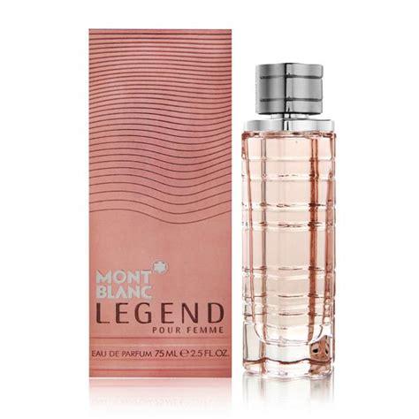 legend pour femme by mont blanc le parfumier