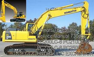 Komatsu Excavator Pc200lc