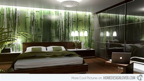 green feature wall ideas 15 refreshing green bedroom designs home design lover