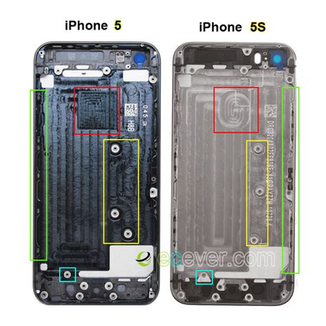 what is the difference between iphone 5s and 5c difference between iphone 5 and iphone 5s back housing