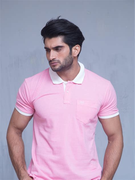 baby pink polo brumano