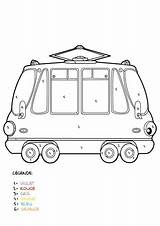 Mystery Tramway Coloring Printable sketch template