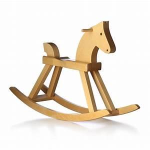 Cheval A Bascule : kay bojesen cheval bascule jouet en bois ~ Teatrodelosmanantiales.com Idées de Décoration