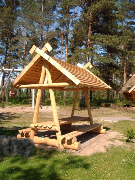 log picnic shelter plans woodworking projects plans
