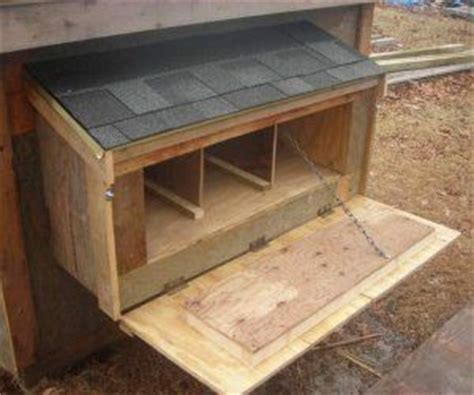 pictures  chicken nesting boxes   build  nest