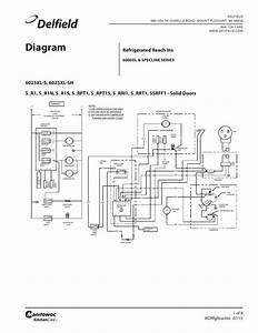 Refrigerated Reach Ins 6000xl Specline Series Wiring