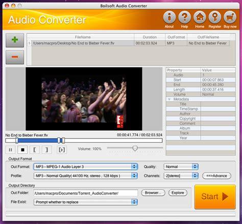 best audio converter mac boilsoft audio converter for mac provides best audio
