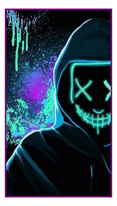 Joker Neon Marvel Supreme Wallpapers Iphone 4k