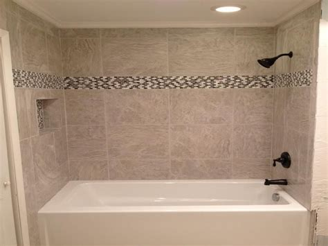 Bathroom Tub Tile Designs by 18 Photos Of The Bathroom Tub Tile Designs Installation
