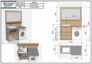 Petit Lave Linge Pour Studio : un lave linge dans une petite salle de bain salle bain ~ Carolinahurricanesstore.com Idées de Décoration