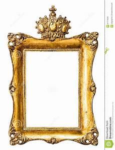 Cadre De Tableau : cadre de tableau d 39 or baroque avec la couronne objet de ~ Dode.kayakingforconservation.com Idées de Décoration
