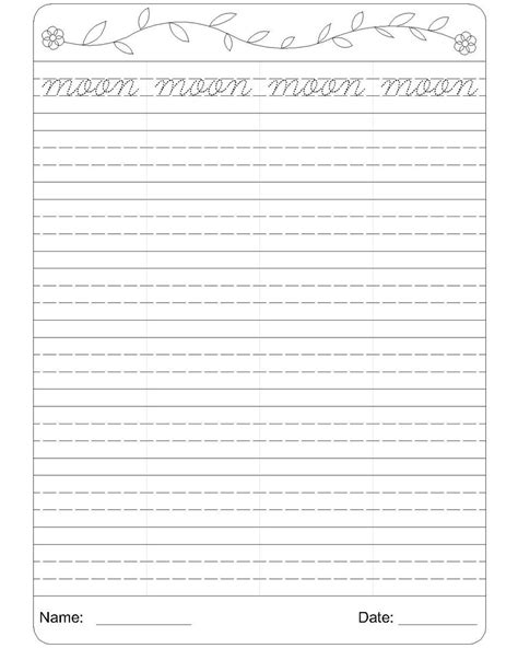 worksheet 2nd grade handwriting worksheets grass fedjp