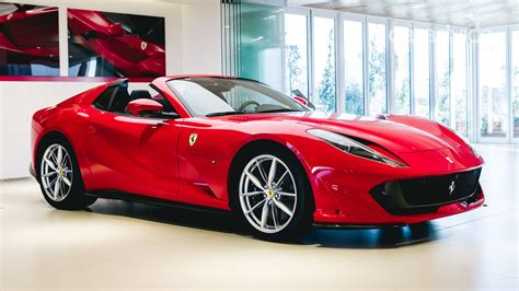 The base model ferrari average cost is over $200,000, which is why ferrari insurance cost is so high. Ferrari 812 GTS Spider V12 to cost $675,888 when it arrives in late 2020 | CarAdvice