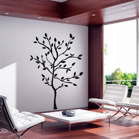 sticker  arbre en printemps pas cher stickers nature