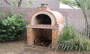 Brick Landscape Design Outdoor Brick Pizza Oven Plans