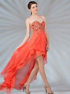 High Low Beaded Prom Dress | Sung Boutique L.A.