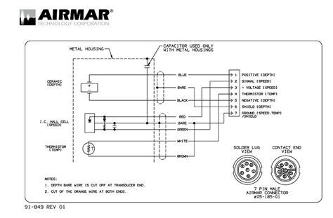 Airmar Transducer Wiring Diagram by Looking For Help Wiring Garmin Gsd 26 To Airmar B175h