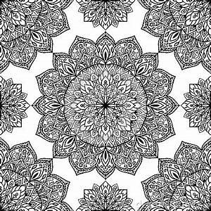 Bettwäsche Orientalisches Muster : orientalisches muster von mandalen vektor abbildung bild 57860773 ~ Whattoseeinmadrid.com Haus und Dekorationen