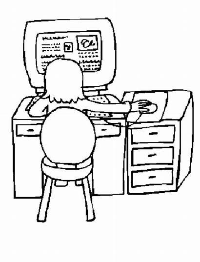 Computadora Dibujos Colorear Dibujos1001