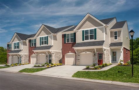 condominiums and townhomes