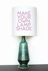 Diy, How, To, Make, Your, Own, Lamp, Shade