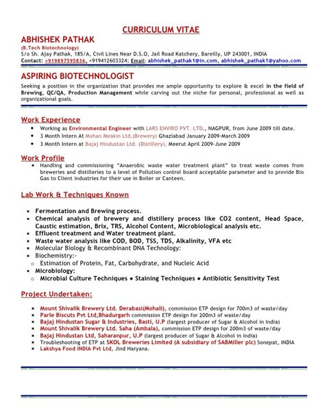Microbiologist Sle Resume by Microbiology Resume Sles 28 Images Resume Landscaping