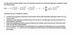 Logarithmus Berechnen : unendliche reihe berechnen ~ Themetempest.com Abrechnung