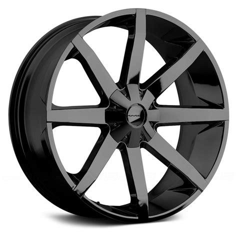black wheels kmc slide wheels gloss black rims