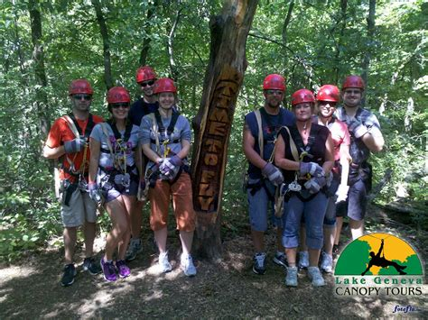 lake geneva canopy tours running the list ziplining