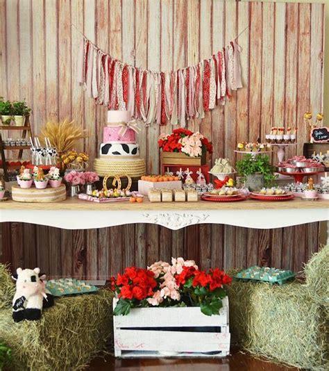 Kara's Party Ideas Girly Little Farm Birthday Party Kara