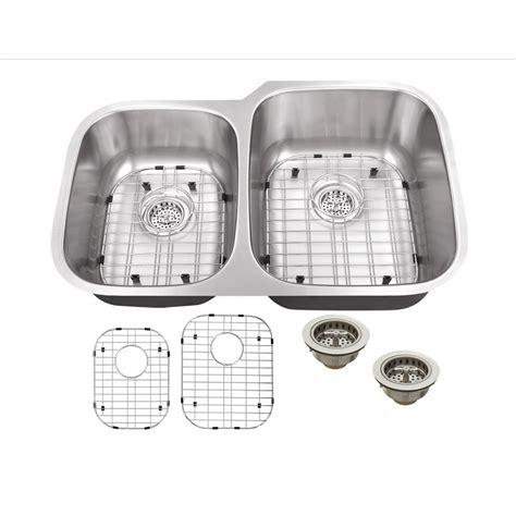 16 stainless steel undermount kitchen sinks ipt sink company undermount 32 in 16 stainless 9682