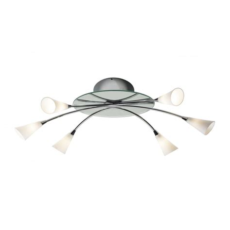 curve insulated ceiling light for low ceilings
