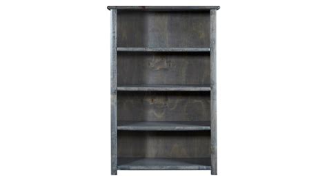 turkey creek rustic gray bookcase