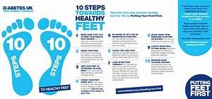 Diabetes Uk 10 Steps To Healthy Feet