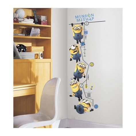 Wandtattoo Kinderzimmer Minions by Roommates Wandsticker Messlatte Minions Kaufen Otto